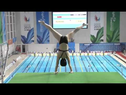 Women's 10m Platform Final Diving - Universiade Gwangju Games 2015 - Full Event