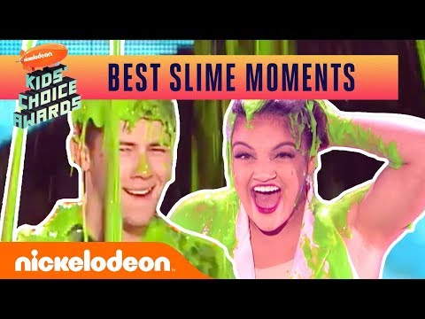 Shawn Mendes Gets Slimed & More!! | Top 21 Kids' Choice Awards Slime Moments