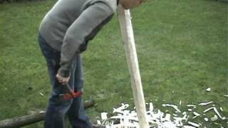 Building a hazelnut flatbow Pa…