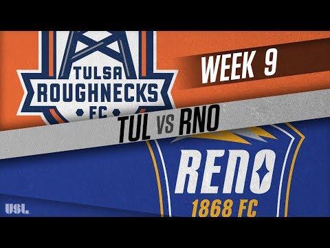 Tulsa Roughnecks FC vs Reno 1868 FC: May 9, 2018