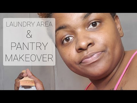 Laundry Area & Pantry Makeover