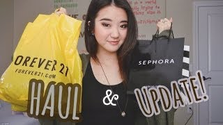 HAUL (+Update!): Forever 21, Sephora, Shoplately! Thumbnail