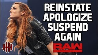 WWE RAW 2/11/19 FULL SHOW RESULTS & REVIEW   THE APOLOGY OF BECKY LYNCH
