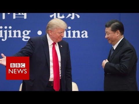 Trump: 'I don't blame China' - BBC News