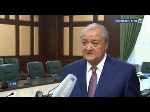 Abdulaziz Kamilov O'zbekiston Prezidentining ShHT Sammitidagi ishtiroki yuzasidan izoh berdi