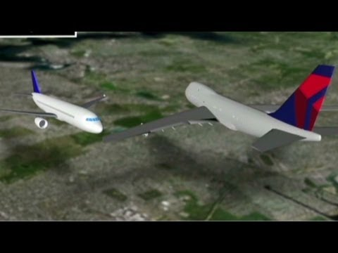 Planes nearly collide on New York runway