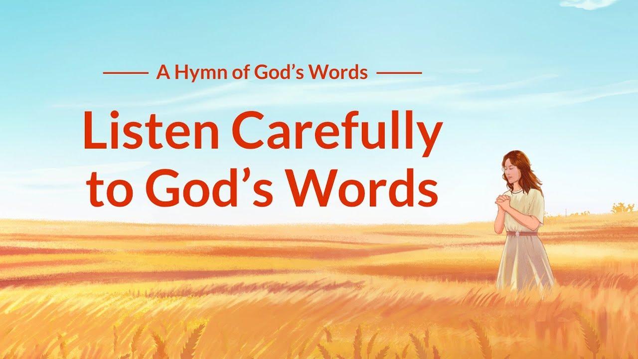 "Christian Devotional Song With Lyrics   ""Listen Carefully to God's Words"""