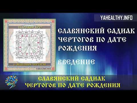 Славянский Садиак Чертогов по дате рождения   Садиак   Чертоги