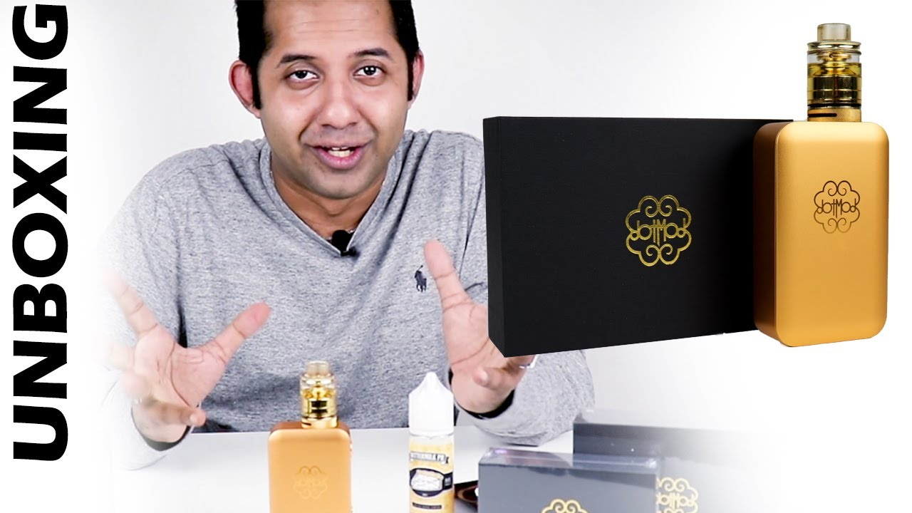 Unboxing! dotMod Black Friday Haul! dotBox 200W Gold Edition!! [2019]