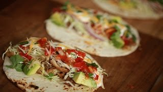 How To Make Chicken Tacos With Byron & Rachel Talbott (the Dish)