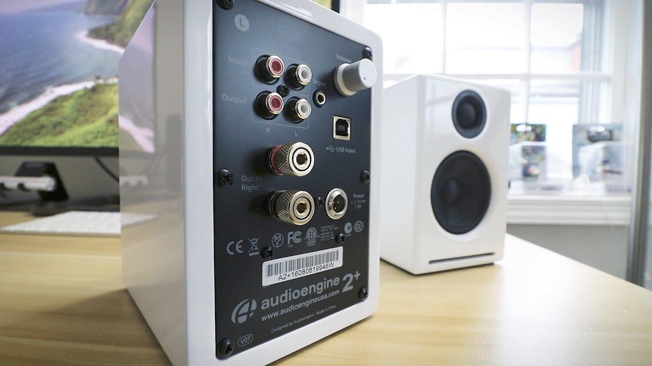 A2 premium powered desktop speakers youtube - Audioengine A2 Powered Speakers Unboxing