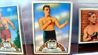 FOR SALE 1951 Topps Ringside Boxing Cards James Corbett Jim Jeffries MORE!