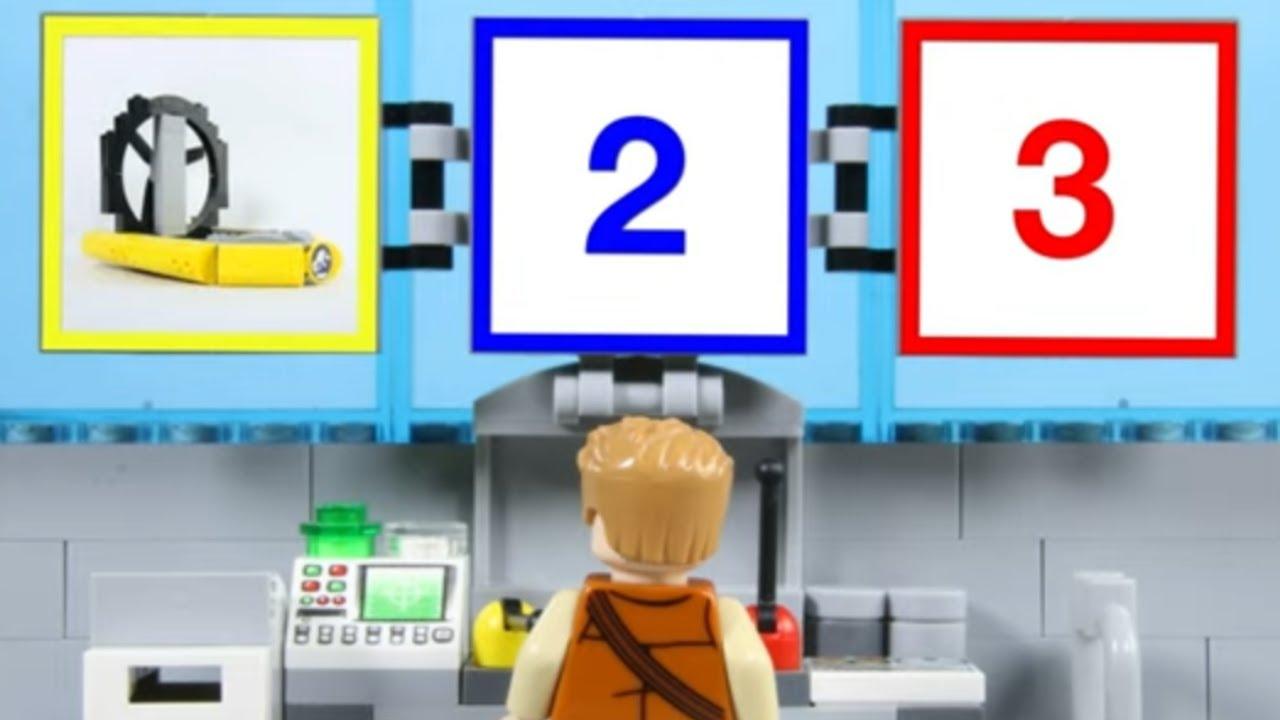 LEGO Experimental Dinosaur Boat STOP MOTION LEGO Dinosaur to Rescue! | LEGO Dinos | Billy Bricks