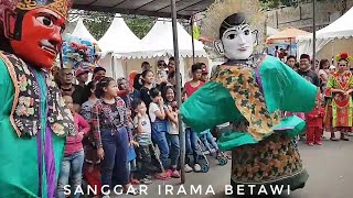 Ondel ondel Festival BinTaro NGAMUK Goyang HeBoh