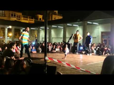 Rap competition in Castellon, Spain. 25/09/2014
