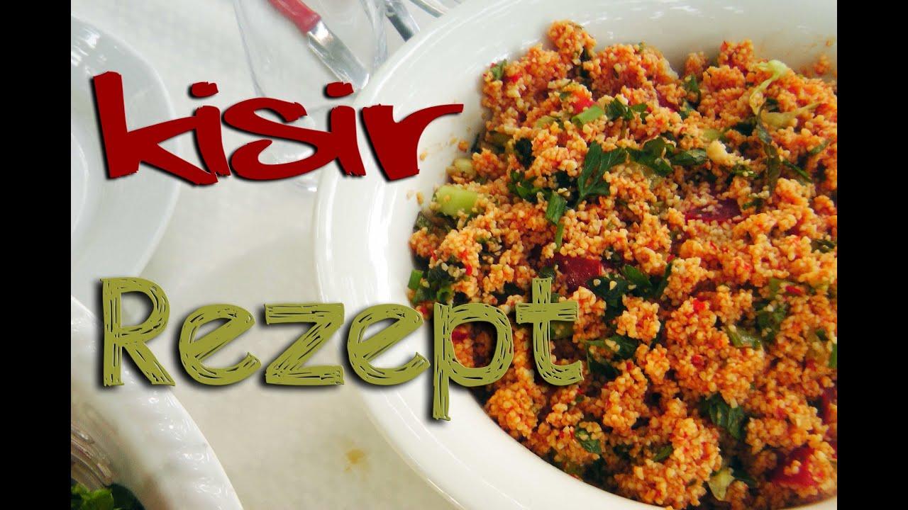 Kisir Rezept - türkische Küche ⎮ Ebru\'s Beauty Lounge - YouTube