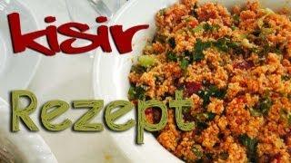 Kisir Rezept  - türkische Küche ⎮ Ebru's Beauty Lounge