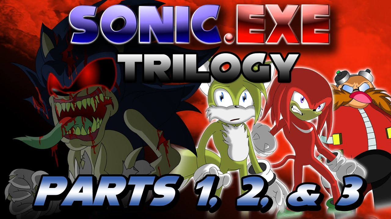 Sonic exe Trilogy (Parts 1,2, and 3)