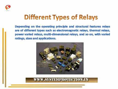 Overview of Electrical Relays | Types of Relays | System Protection ...