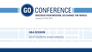 GO After Hours - Q&A: The Insanity of God - GO Conference 2017