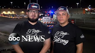 Hero citizens in El Paso ran toward danger to help others l #ABC #News