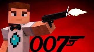 Шпион - Олпен 007! Секретная Миссия невыполнима в майнкрафт. Мультик