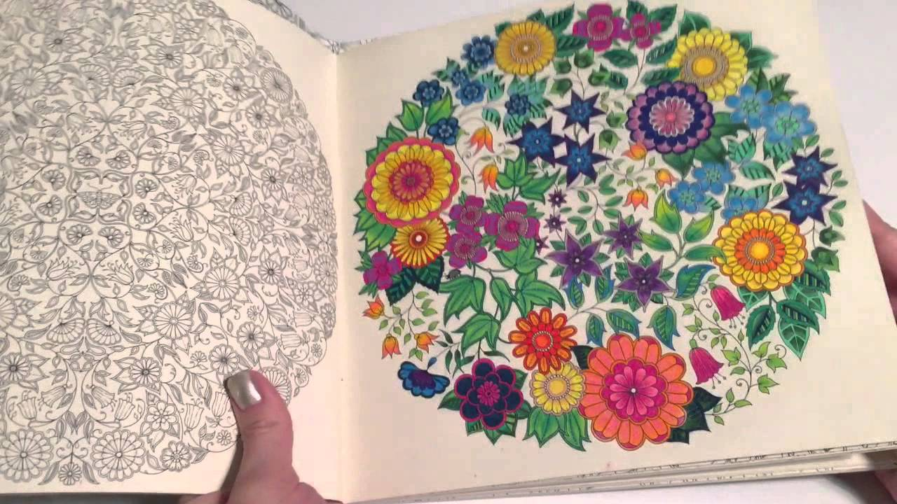 Secret Garden Adult Coloring Book Review