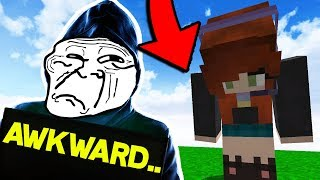 HYPIXEL STAFF MEMBER gets FIRED! *LIVE REACTION* (Bedwars Trolling)