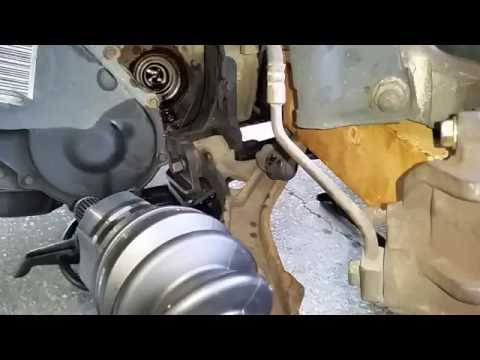 1996 to 2002 Caravan Drivers CV Axle Step by Step Change Part 4 of 4