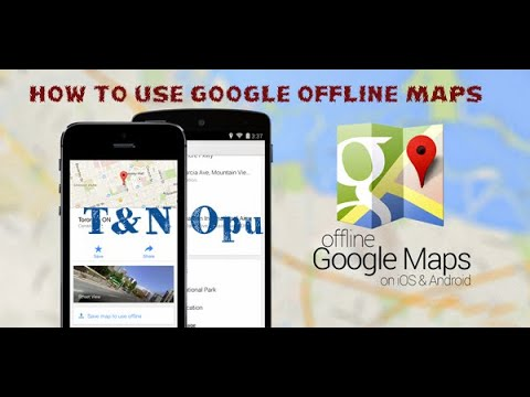 How To Use Google Map as GPS Offline