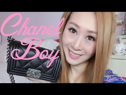 UNBOXING CHANEL BOY BAG CRUISE COLLECTION 2014 ♥ d0cf1bd3992c9