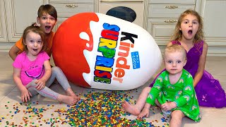 Five Kids Egg Surprise + more Children's Songs and Videos