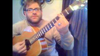 How to play Song #2 by Blur on acoustic guitar