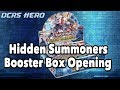 [DCRS] Hidden Summoners Booster Box Opening