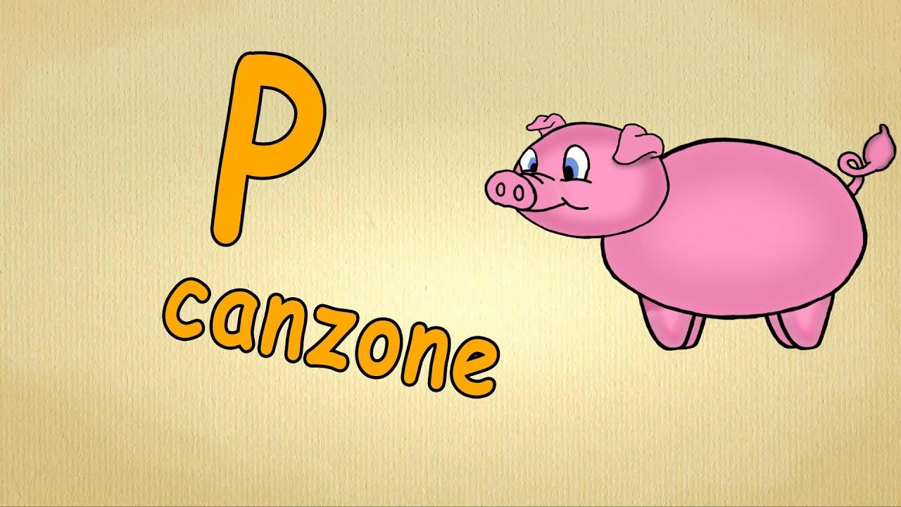 Impara alfabeto la lettera p canzon per bambini youtube altavistaventures Choice Image