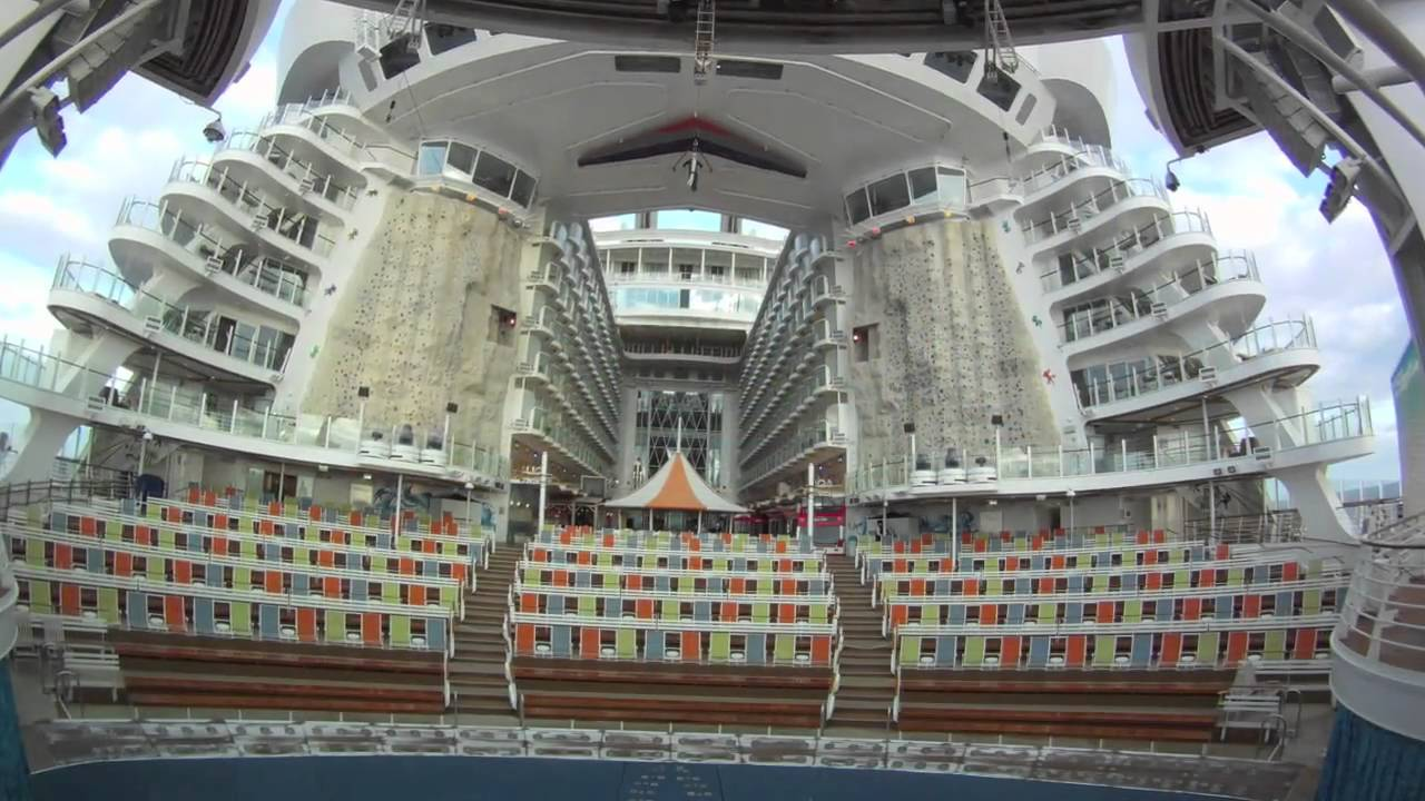 Oasis Of The Seas Cruise Ship GoPro HD Camera YouTube - Cruise ship oasis of the seas