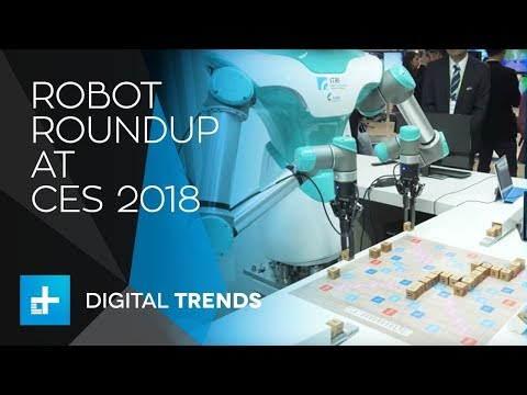 Robot Roundup at CES 2018