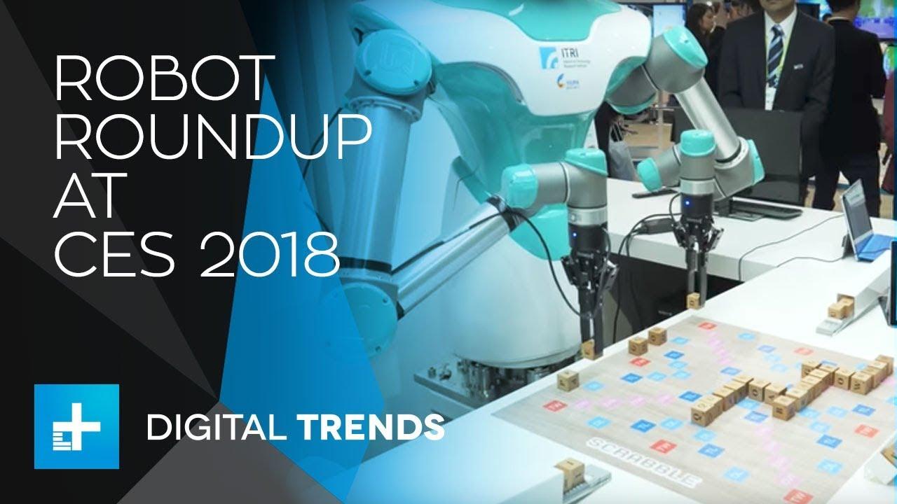 Robot Roundup at CES 2018