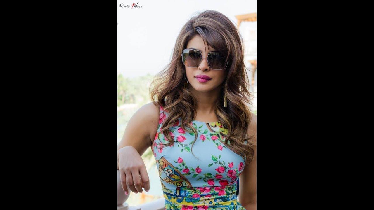 Priyanka Chopra Wearing Large Sunglasses - Youtube-4426