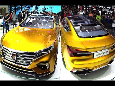 Roewe Vision R Concept debuts on the Guangzhou Auto Show in China 2016, 2017 model