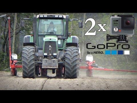 Siewy kukurydzy 2017 NOWY NABYTEK - Fendt 824 & Kuhn Maxima 2 TS ☆ Vlog na 2 kamery GoPro #40