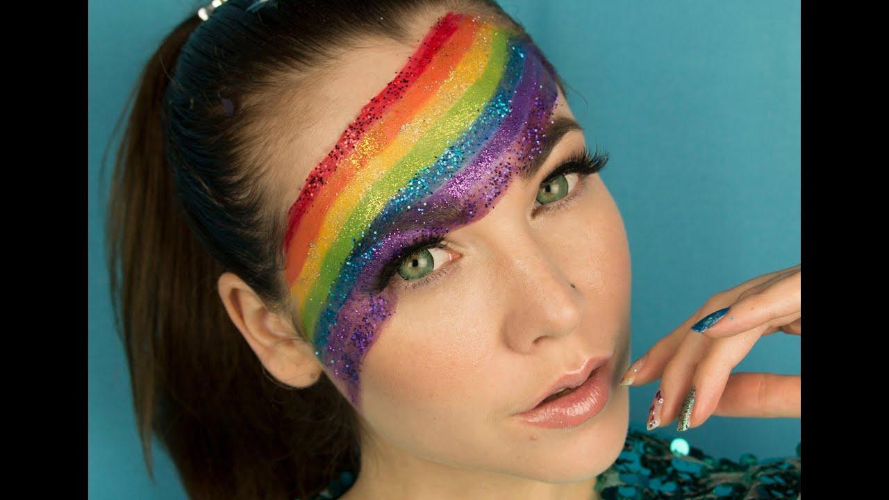 Celebrating Gay Pride Rainbow Make Up Youtube