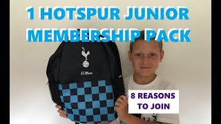 8 reasons to be a 1 Hotspur Member | Tottenham Hotspur Membership Pack | Spurs Junior Member