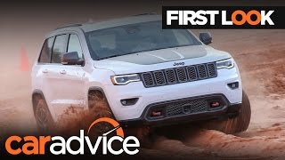 2017 Jeep Grand Cherokee Trailhawk First Look Review | CarAdvice