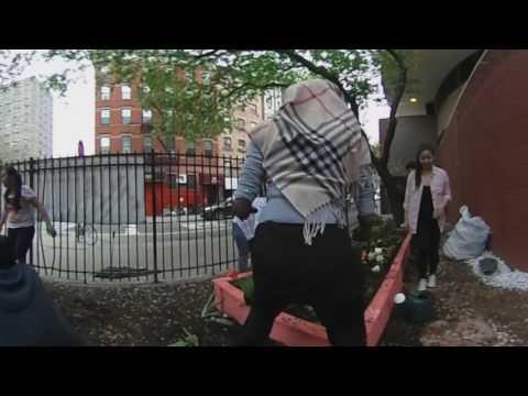 Urban Revival Project at Emma Lazarus High School