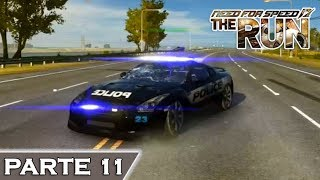 DESTRUINDO CARROS POLICIAIS - Need for Speed The Run - PARTE 11