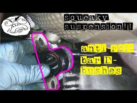 squeaky suspension--anti roll bar d bushes---Ford fiesta 2008 2017 mk 6