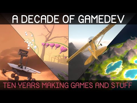 My First 10 Years Of Game Development