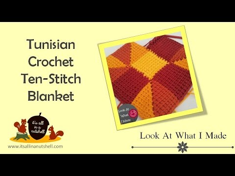 Tunisian Crochet Ten Stitch Afgan