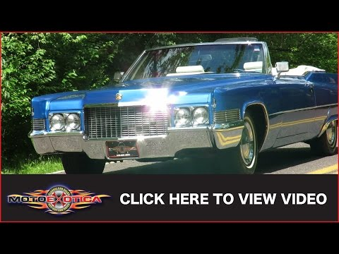 1970 Cadillac DeVille Convertible (SOLD)